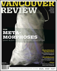 Cover of the magazine Vancouver Review