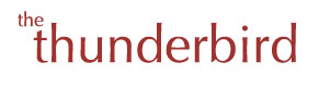 Logo of the Thunderbird online magazine
