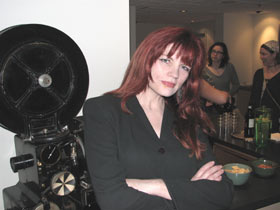 Heather Haley, video poet and curator of See the Voice: Visible Verse 2006